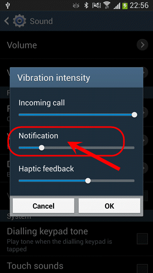 لرزاندن گوشی (vibrate) به مدت چند ثانیه، در برنامه نویسی اندروید