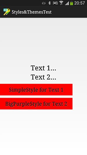 پروژه اندروید : تعریف کردن سبک ها (Styles) و قالب ها (Themes)، با ساخت فایل های xml در پوشه values از پروژه اندروید