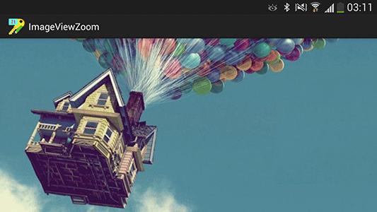 ایجاد امکان بزرگنمایی (zoom) دو انگشتی برای عکس نمایش داده شده در ImageView ، با توسعه عنصر ImageView ، در برنامه نویسی اندروید
