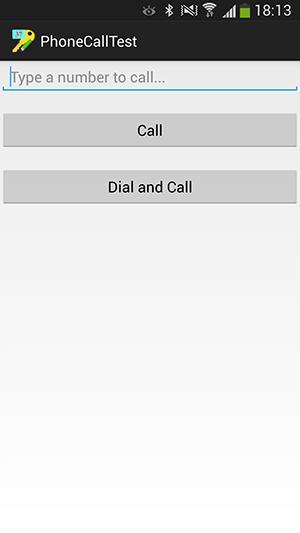 پروژه اندروید : برقراری تماس تلفنی (Phone Call)