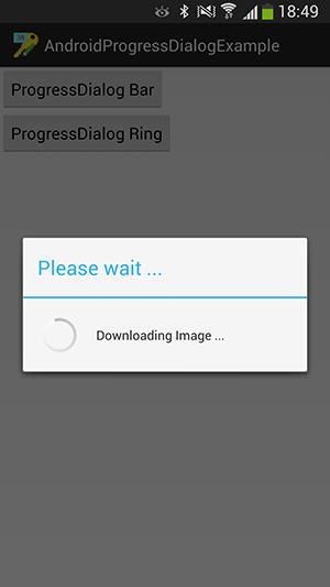 پروژه اندروید : ساخت ProgressDialog برای نمایش میزان پیشرفت و همچنین اعلام حالت انتظار به کاربر - ساخت ProgressDialog به شکل میله ای (Bar) - ساخت ProgressDialog به شکل حلقوی (Ring)