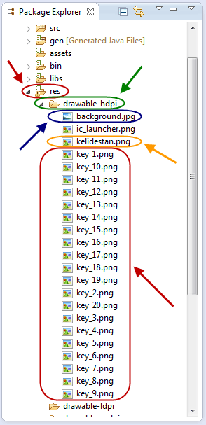 ساخت یک ListView سفارشی (Custom ListView) شامل چندین عنصر در هر ردیف (row) از ListView و با قابلیت رفتن به Activity جدید پس از اشاره کاربر بر روی هر ردیف و ارسال اطلاعات بر اساس ردیف انتخاب شده به Activity مقصد، در برنامه نویسی اندروید