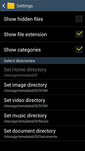 مشاهده فایل ها و پوشه های پنهان شده (hidden) در پوشه بندی گوشی اندروید