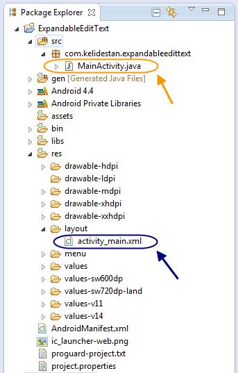 ساخت یک TextView با قابلیت نمایش مختصری از متن و سپس نمایش کامل متن هنگام اشاره کاربر (Expandable TextView)، در برنامه نویسی اندروید