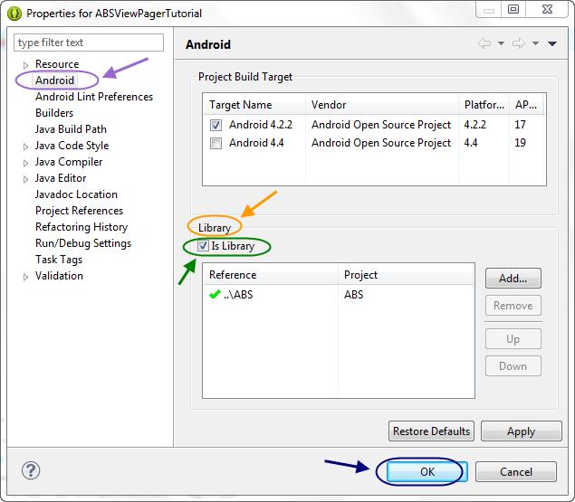بر طرف کردن خطای <span dir=ltr>There is no android project named '*'</span> هنگام ساختن فایل apk از پروژه اندروید در برنامه eclipse ، در برنامه نویسی اندروید