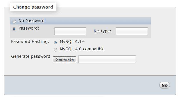 تعیین رمز عبور root در MySQL