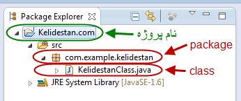 وارد کردن (import) کلاس هایی (class) از کتابخانه های (library) مختلف java به درون پروژه java