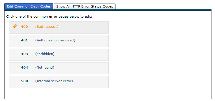 ساختن یک صفحه 404 مناسب برای صفحاتی که با خطای 404 روبرو می شوند (در کنترل پنل cpanel)