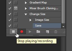 انجام عملیت های تکراری، با اکشن ها (Actions) در Adobe Photoshop