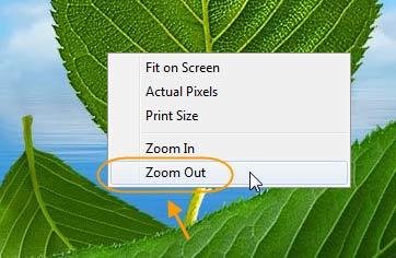 بزرگنمایی (zoom) یک عکس، در Adobe PhotoShop