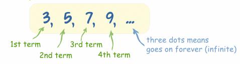 مثالی برای دنباله (Sequence)